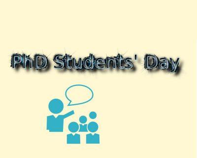 PhD students day logo