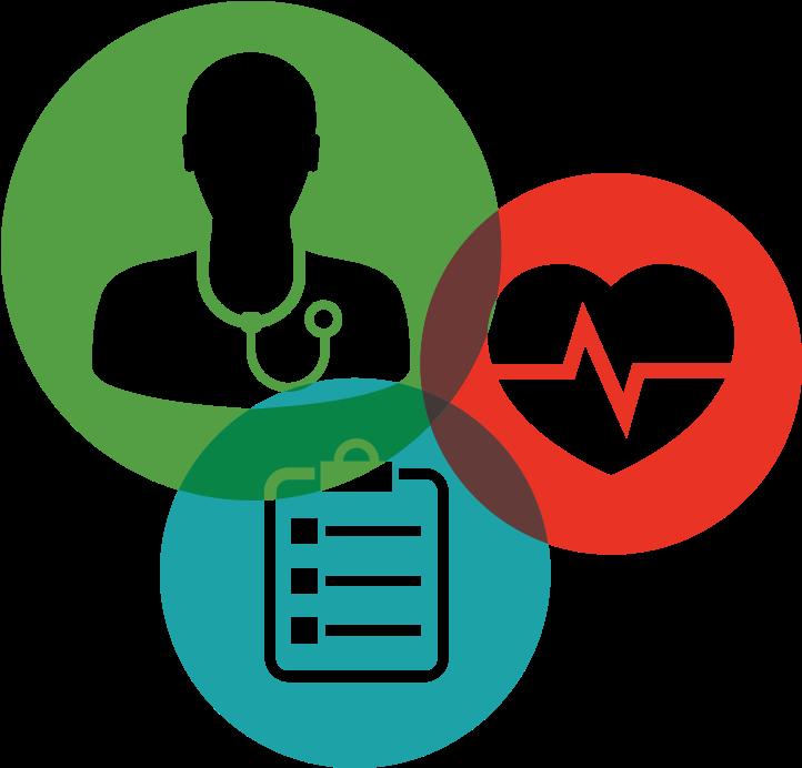 Medical screening clipart